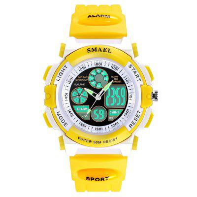 SMAEL 0704 Multi-Function Electronic LED Waterproof Student Kid Sport Watch
