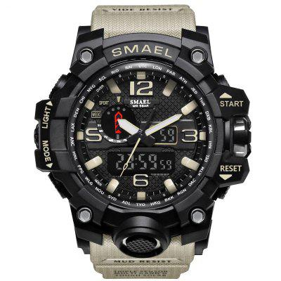 SMAEL 1545 Multi-Function Waterproof Outdoor Sport LED Watch
