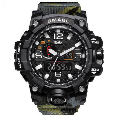SMAEL 1545 Multifunktions-Camouflage Wasserdichte LED-Uhr Outdoor Sport