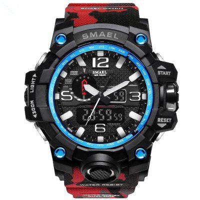 SMAEL 1545 Multifunctionele Camouflage Waterdichte LED Watch Outdoor Sport