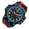 SMAEL 1545 Multi-function Camouflage Waterproof LED Watch Outdoor Sport - RED