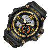 SMAEL 1617 Fashion Multi-function Waterproof LED Electronic Watch Outdoor Sport - GOLDEN