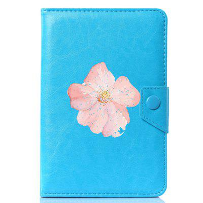Universal Cool Beautiful Flower PU Leather Stand Cover Case for 10.1 inch universal 10 inch tablet pu leather case cover for gigaset qv1030 technisat technipad 10g android cases center film pen kf492a