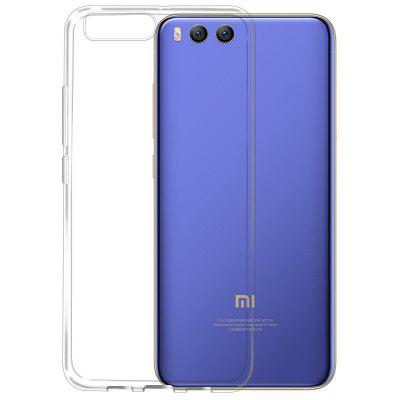Transparent Slim Soft TPU Cover Case for Xiaomi 6