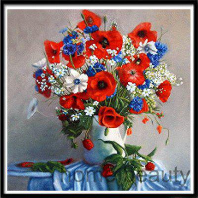 Naiyue 9578 Vase Flower Print Draw 5d Diamond Painting Diamond