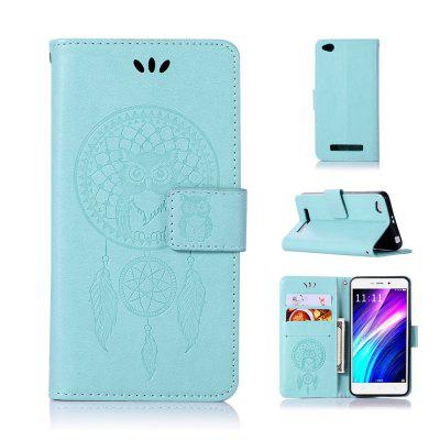Owl Campanula Fashion Wallet Cover For Xiaomi Redmi 4A Phone Bag With Stand PU Extravagant Vintage  Flip Leather Case