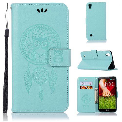 Owl Campanula Fashion Wallet Cover For Lg X Power K210 K220ds