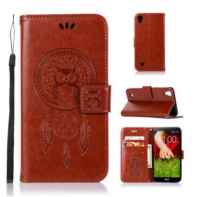 Owl Campanula Fashion Wallet Cover For LG X Style / K200DS 5.0Inch Phone Bag With Stand PU Extravagant Flip Leather Case