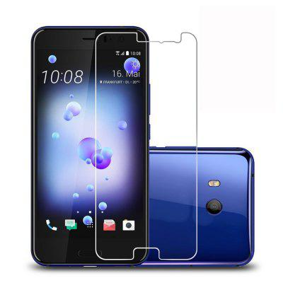 2 Pack 9H Hardnes Screen Protector HD Tempered Glass for HTC U11