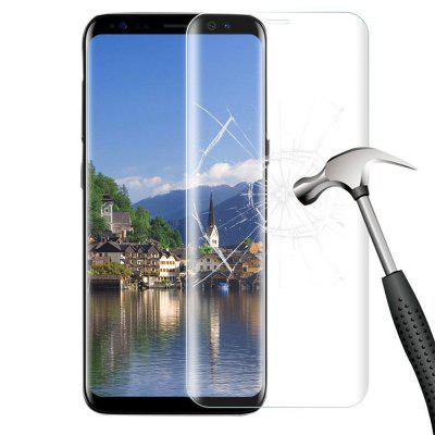 2 Pcs 3D Curved Full Cover 9H Tempered Glass for Samsung Galaxy  S8