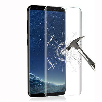 2 Pcs 3D Curved Full Cover 9H Tempered Glass for Samsung Galaxy S8 Plus