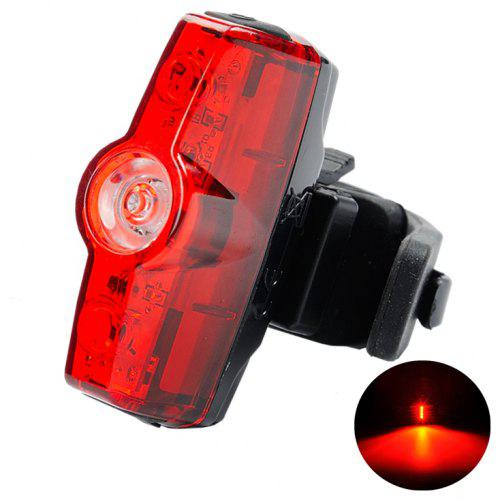 3LED USB Rechargeable Bike Headlight Taillight Single Piece Bicycle Lights Bulbs