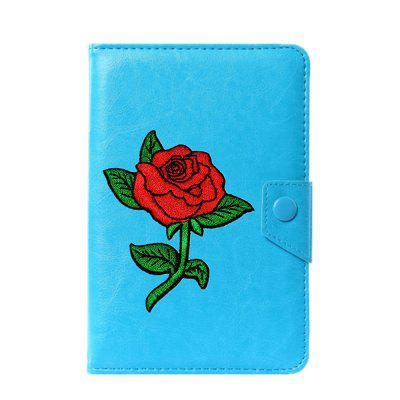 Universal Cartoon Flowers Case for 6 / 7 / 7.9 / 8 / 9 / 10 / 10.1 inch