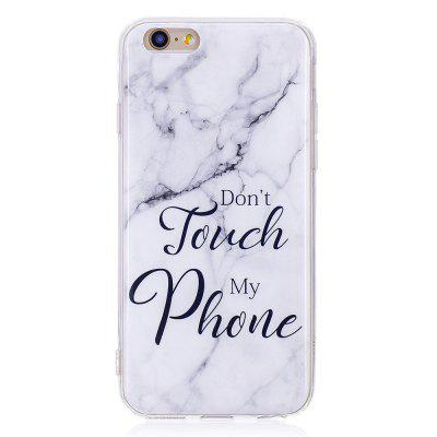 Фото TPU Soft Case for iPhone 6 / 6s My Phone Marble Style Back Cover