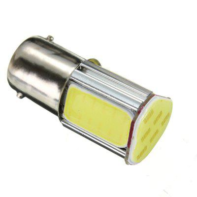 White 1156 G18 Ba15s 4 COB LED 5W Turn Signal Rear Light Car Bulb Lamp 12V DC