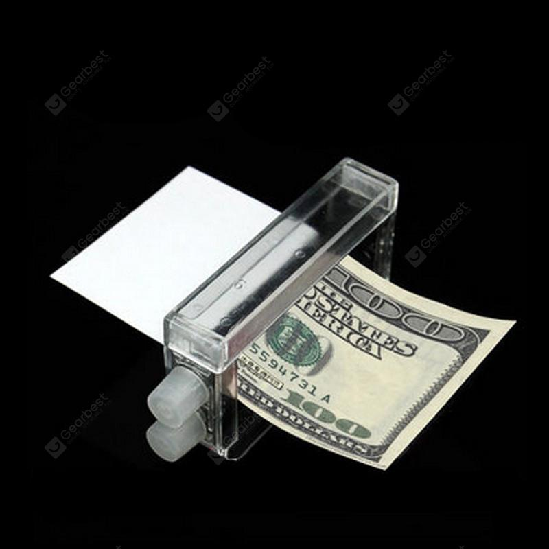 1pc Money Printing Machine Money Maker Easy Magic Trick Toys Magician Props - White