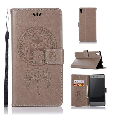 Owl Campanula Fashion Wallet Cover For Sony Xperia XA1 Case Phone Bag With Stand PU Extravagant Vintage Flip Leather Case