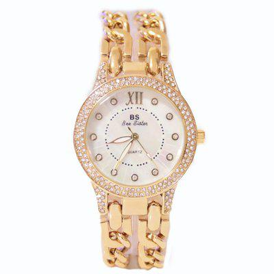 Fashion Luxury New Arrival Women Diamond Stainless Steel Casual Quartz Wrist Watch keep in touch couple watches for lovers luminous luxury quartz men and women lover watch fashion calendar dress wristwatches
