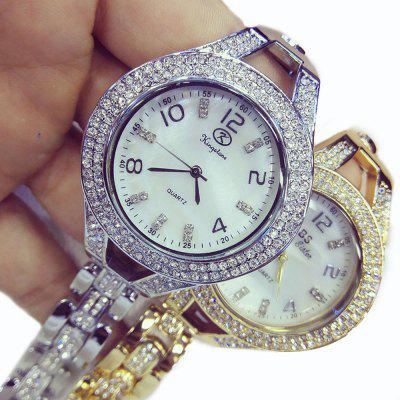 New Style Fashion Women Luxury Crystal Bracelet Wrist Watches luxury style melissa lady women s watch rhinestone crystal fashion hours dress bracelet clock stars big girl birthday gift box