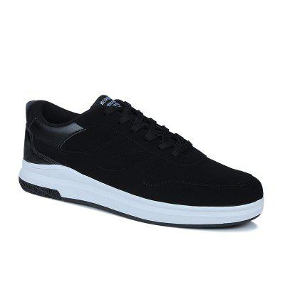 Fashion Splicing Soft Breathable Athletic Shoes For Men