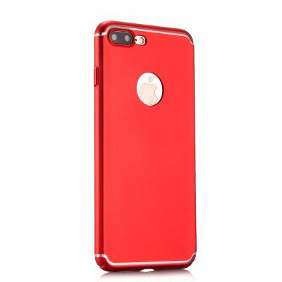 Ultra Thin Phone Case for iPhone 7 Plus Matte PC Hard Back Cover clock acrylic phone cover for iphone 7 plus