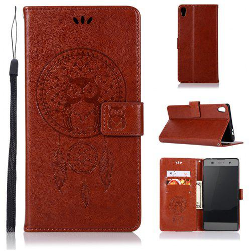 new arrival e7822 1ecdc Owl Campanula Fashion Wallet Cover For Sony Xperia XA Ultra / Sony C6 Case  PU Flip Leather Case Phone Bag With Stand