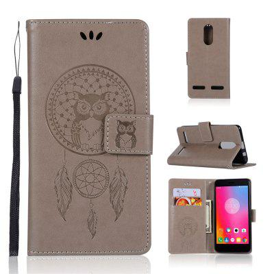 Owl Campanula Fashion Wallet Cover For Lenovo K6 / K6 Power Case Phone Bag With Stand PU Extravagant Flip Leather Case