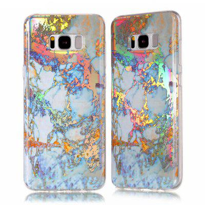 Fashion Plated Marble Phone Case voor Samsung Galaxy S8 Cover Luxe Luxe TPU Full 360 Beschermhoes