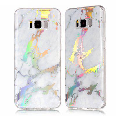 Custodia in marmo placcato colore moda per Samsung Galaxy S8 Plus Custodia rigida lussuosa in TPU 360 piena