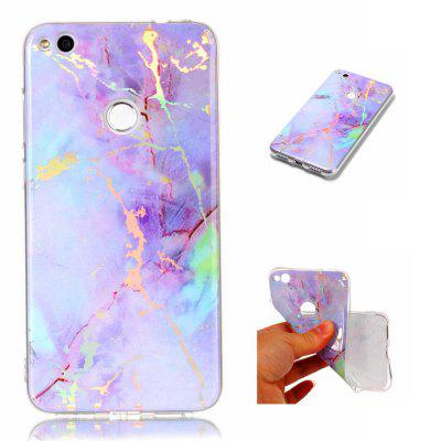 Fashion Plated Marble Phone Case voor Huawei Honor 8 Lite Cover Luxe Luxe TPU Full 360 Beschermhoes