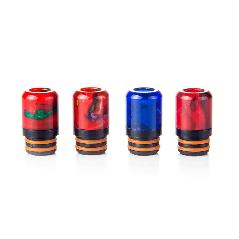 Iwodevape E-Cig Accessories Explosion-Proof Oil C Paragraph Epoxy Resin Drip Tip 510 Drip Tip 4 colors / group