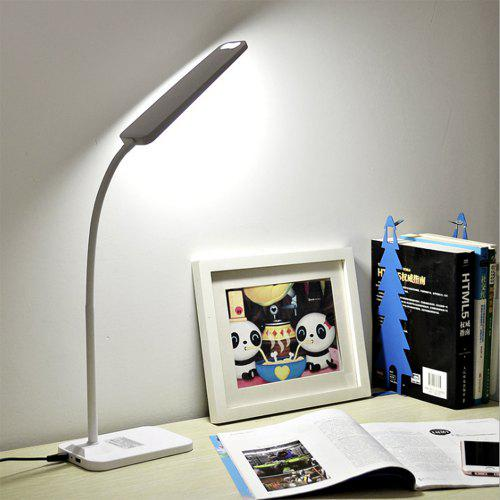 study desk lamp brelong led table lamp dimming study reading usb output charging