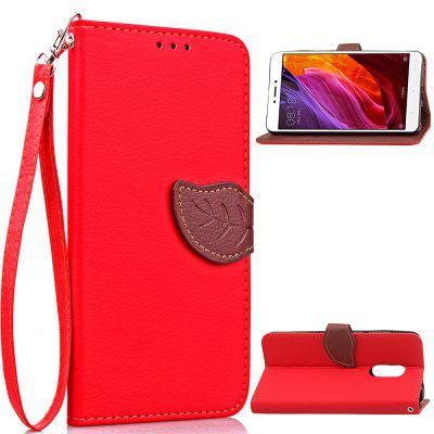 Cover Case for Xiaomi Redmi Note 4 X / 4 Magnetic Wallet Pu Leather Protective Mobile Holster