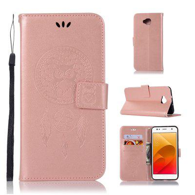 Owl Campanula Fashion Wallet Cover For Asus Zenfone 4 Selfie ZD553KL Case Phone Bag With Stand PU Flip Leather Case