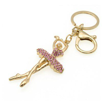 Fashionable Cute Girl Key Chain Lady Bag Car Hang Piece
