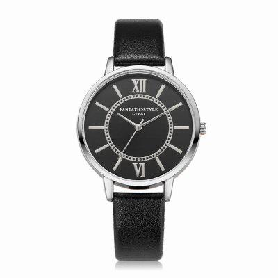 Lvpai P094-S Women Fashion Leather Band Black Dial Wrist Watches fashion leather watches for women analog watches elegant casual major wristwatch clock small dial mini hot sale wholesale