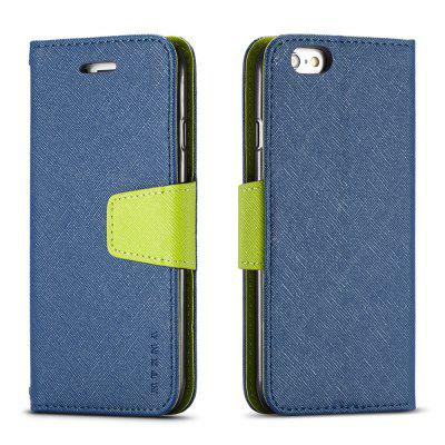 Cover Case For iPhone 6 Plus Multifunktional Canvas Design Flip PU Leather Wallet Case mercury goospery milano diary wallet leather mobile case for iphone 7 plus 5 5 grey