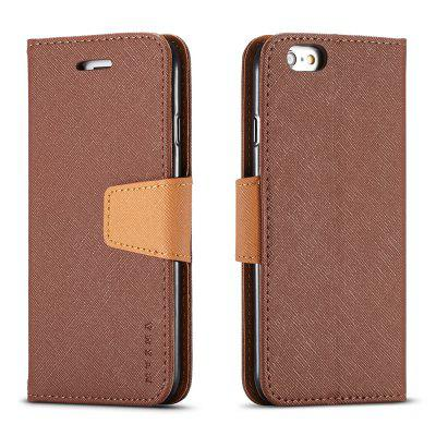 Cover Case For iPhone 6 Plus Multifunktional Canvas Design Flip PU Leather Wallet Case