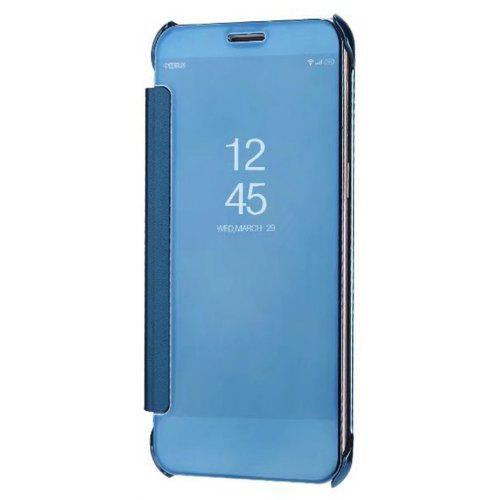 new styles db559 2f5eb Case Cover for Samsung Galaxy A8 Plus (2018) Luxury Clear View Mirror Flip  Smart