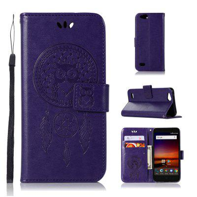 Owl Campanula Fashion Wallet Cover para ZTE Tempo X N9137 / Blade Vantage / Avid 4 Z839 Case PU Flip Leather Case