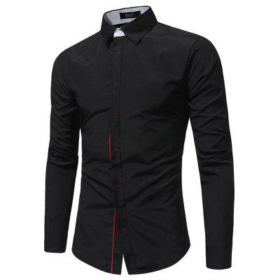 Camisa de Slim Fashion Business Fashion