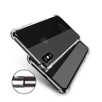 Transparent Crystal Clear Silicone Protection Cover for iPhone