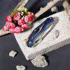 Folding Knife Multi-Function Outdoor Knife - Variant Gold Color - COLORFUL
