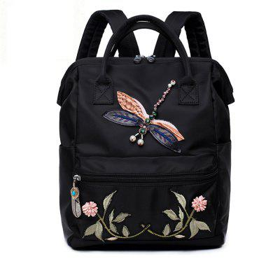 b49c7884cf Best Buy Chinese Embroidery Flower Backpack Women Waterproof School Bags  Teenage Girl Woman