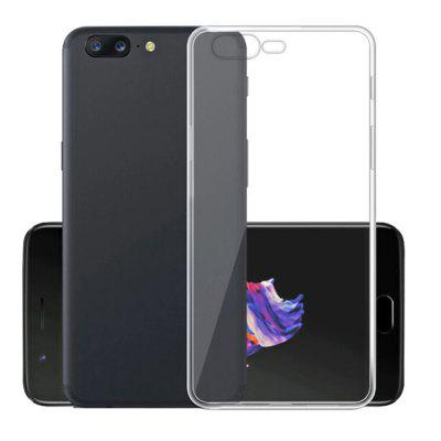 Ultra-Thin Tpu Back Cover Case for Oneplus 5 - Transparent