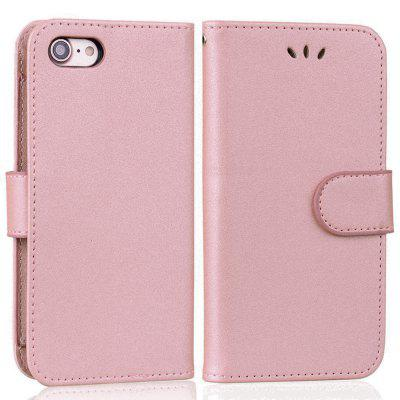 Cover Case For iPhone 7 Solid Color Pattern PU Leather Wallet Case kinston future road pattern pu leather full body case w stand for iphone 6 4 7 multicolored