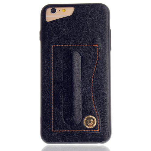 leather bracket insert card cell phone shell for iphone 6 plus 6s