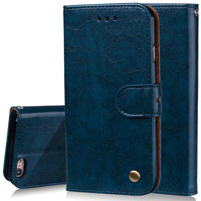 Фото Cover Case For iPhone 6 Oil Wax Pattern PU Leather Wallet Case for microsoft surface pro 4 genuine leather case new fashion oil wax sleeve bag