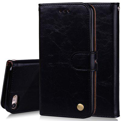 Фото Cover Case For iPhone 7 Oil Wax Pattern PU Leather Wallet Case for microsoft surface pro 4 genuine leather case new fashion oil wax sleeve bag