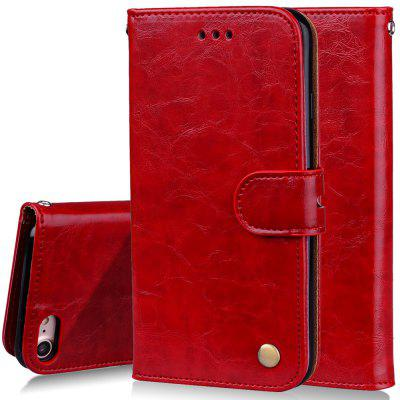 Фото Cover Case For iPhone 8 Oil Wax Pattern PU Leather Wallet Case for microsoft surface pro 4 genuine leather case new fashion oil wax sleeve bag